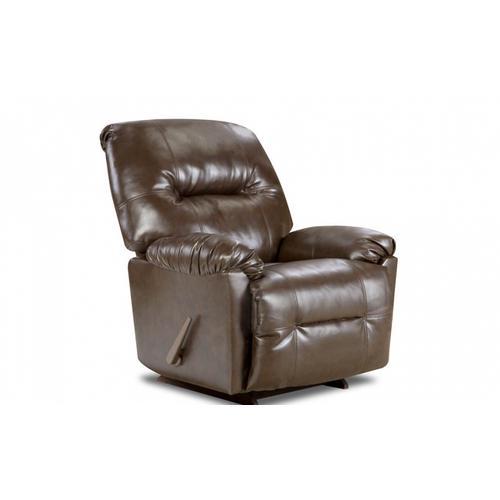 American Furniture Manufacturing - Bentley Brown Recliner