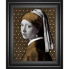 Gilded Earring(after Jan Vermeer) By Eccentric Accents
