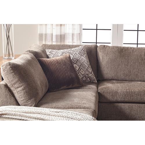 1100 L/f Chaise RF Sofa- Angoara Tabby--2pc's