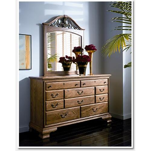 Gallery - Westchester Oaks Gate Dresser Mirror