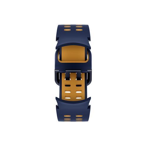Samsung - Galaxy Watch4, Galaxy Watch4 Classic Extreme Sport Band, S/M, Blue/Mustard