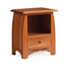 See Details - Aspen Nightstand with Opening and Inlay