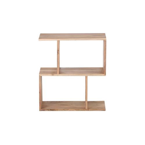 Porter International Designs - Portola Natural 2 Cube Bookcase, 2001-7212NT