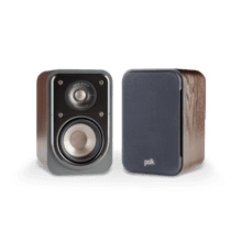 COMPACT SIGNATURE SERIES SATELLITE SURROUND SPEAKERS (PAIR) in Classic Brown Walnut
