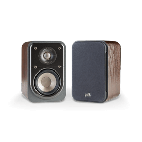 COMPACT SIGNATURE SERIES SATELLITE SURROUND SPEAKERS (PAIR) in Classic Brown Walnut