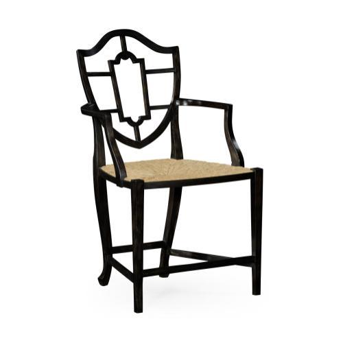 Aveburn Charcoal Wash Arm Chair