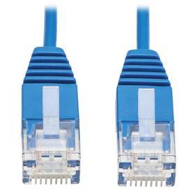 Cat6 Gigabit Molded Ultra-Slim UTP Ethernet Cable (RJ45 M/M), Blue, 5 ft. (1.52 m)