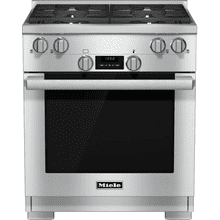 HR 1724 LP - 30 inch range Dual Fuel model with DirectSelect controls.