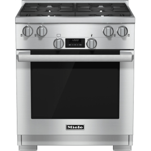30 inch range Dual Fuel model with DirectSelect controls. Product Image
