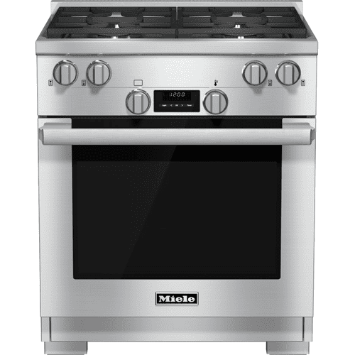 HR 1724 G - 30 inch range Dual Fuel model with DirectSelect controls.