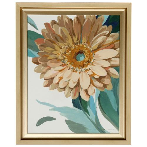 Style Craft - JEWEL OF THE GARDEN II  27in w X 33in ht  Made in USA  Textured Framed Print