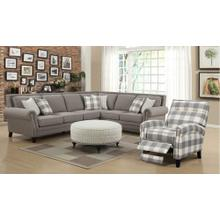 Willow Creek 2 Pc. Sectional Grey