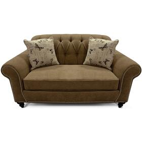 5736N Stacy Loveseat with Nails