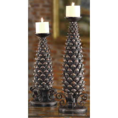 """Monticola"" Candleholders"