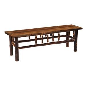 Bench - 48-inch - Barnwood - Artisan seat