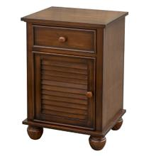 Nightstand - Bahama Shutterwood (1 Drawer)