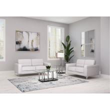 U6109 LIGHT GREY SOFA/LOVESEAT
