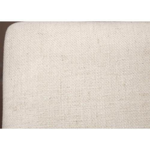 Myra - Upholstered Bench - Natural Finish