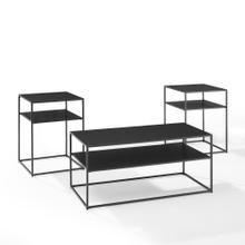 See Details - Braxton 3pc Coffee Table Set