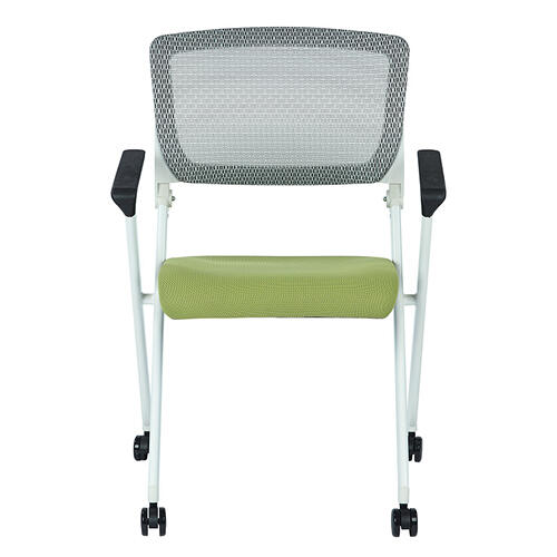 Folding Chair With Breathable Mesh Back