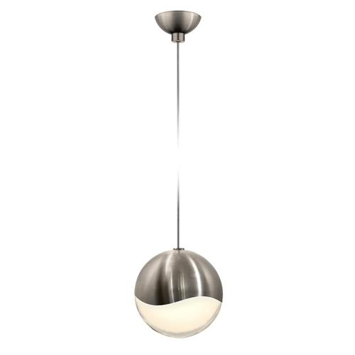 Sonneman - A Way of Light - Grapes® LED Pendant [Size=Single Large, Color/Finish=Satin Nickel, Shape=Micro-Dome Canopy]