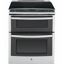 """See Details - 30"""" Slide In Double Oven Electric True Convection Range"""