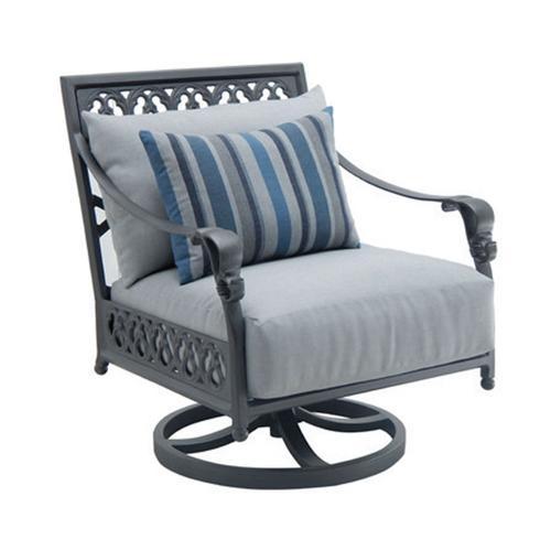 Castelle - Biltmore Cushioned Lounge Swivel Rocker