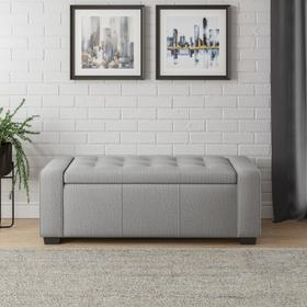 Emerald Home Gavyn Storage Bench Beige