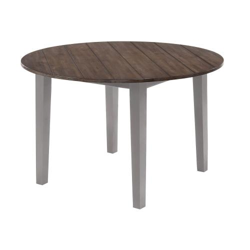 5059 A La Carte Gray Round Dining Table