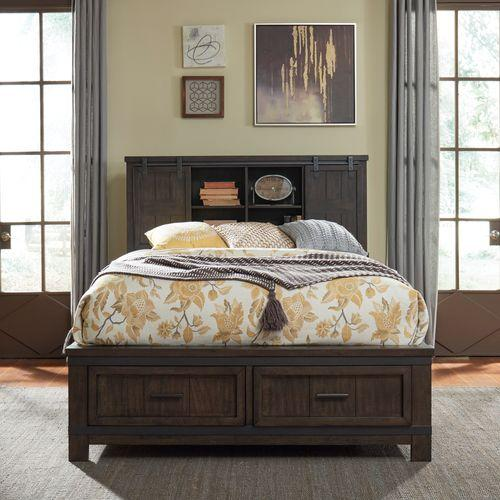 Liberty Furniture Industries - Queen Bookcase Bed