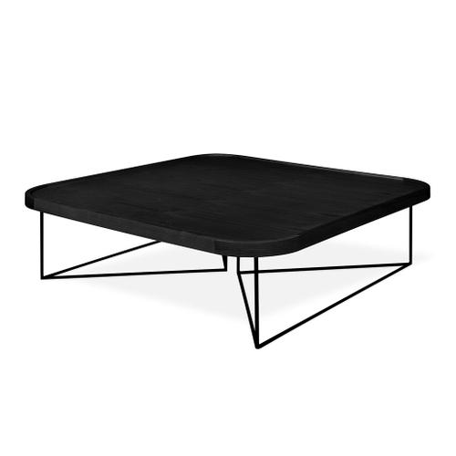 Porter Coffee Table - Square Black Ash