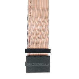 Internal SCSI U2/160 SCSI-LVD/SE 5-Drive Ribbon Cable with Terminator (6xHD68 M), 38-in.