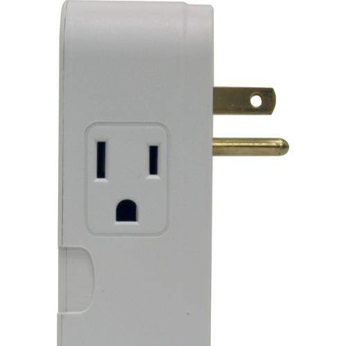 2 Outlet Direct Plug-In Surge Protector