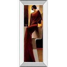 """Poise"" By Keith Mallet Mirror Framed Print Wall Art"