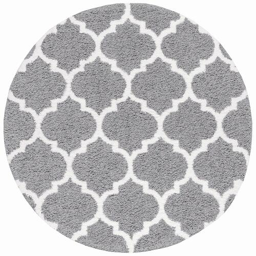 Jersey Shag - JRS1302 Silver Rug