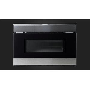 "Fulgor Milano24"" Built-in Drawer Microwave - Stainless Steel"
