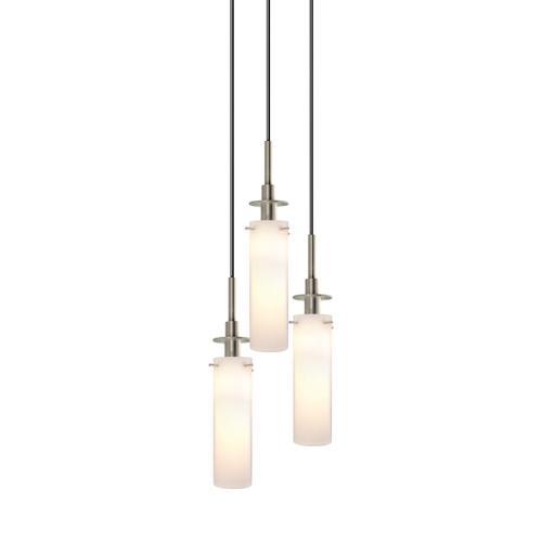 Sonneman - A Way of Light - Candle Pendant [Size=3-Light, Color/Finish=Satin Nickel]