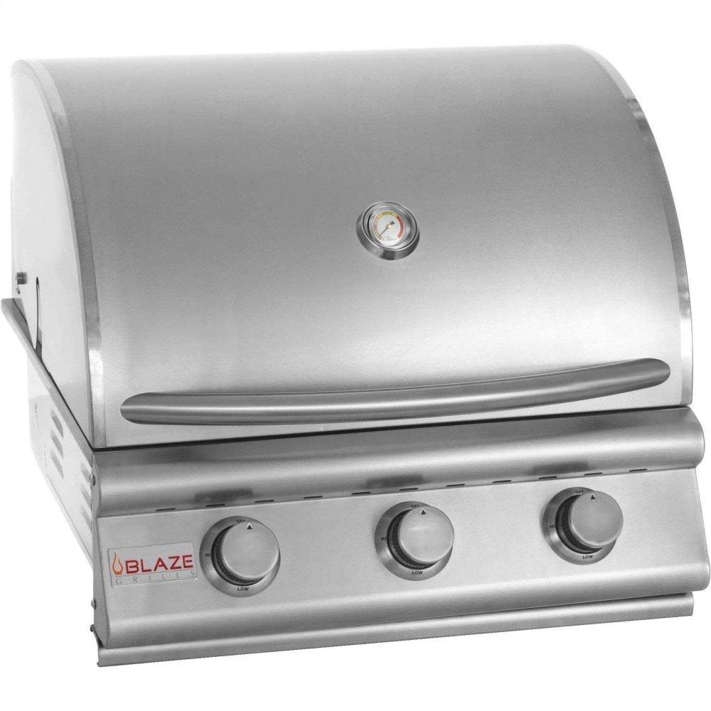 Blaze GrillsBlaze 25 Inch 3-Burner Grill, With Fuel Type - Propane