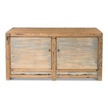 Blue Charcoal Sideboard