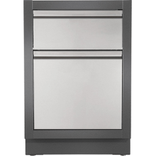 OASIS Waste Drawer Cabinet , Grey