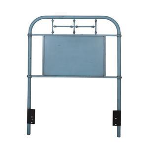 Liberty Furniture Industries - Twin Metal Headboard - Blue
