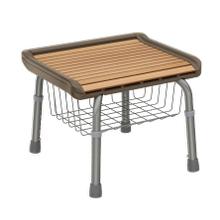 Shower Seat with Storage
