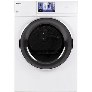 """Haier4.3 cu.ft. Capacity Smart 24"""" Frontload Electric Dryer with Stainless Steel Basket"""