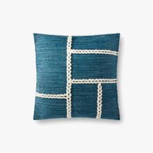 P0916 Blue / Natural Pillow