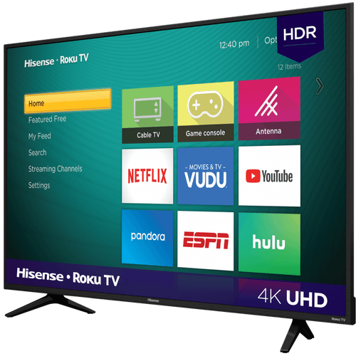 "50"" Class - R6 Series - 4K UHD Hisense Roku TV with HDR (2018) SUPPORT"