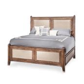 Biscayne West Eastern King Panel Bed (3 pc) Haze