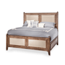 Biscayne West Eastern King Panel Bed (3 pc) Haze