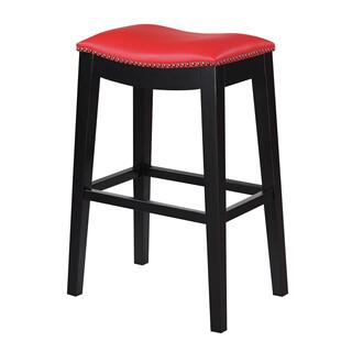 "Briar 30"" Bar Stool Red"
