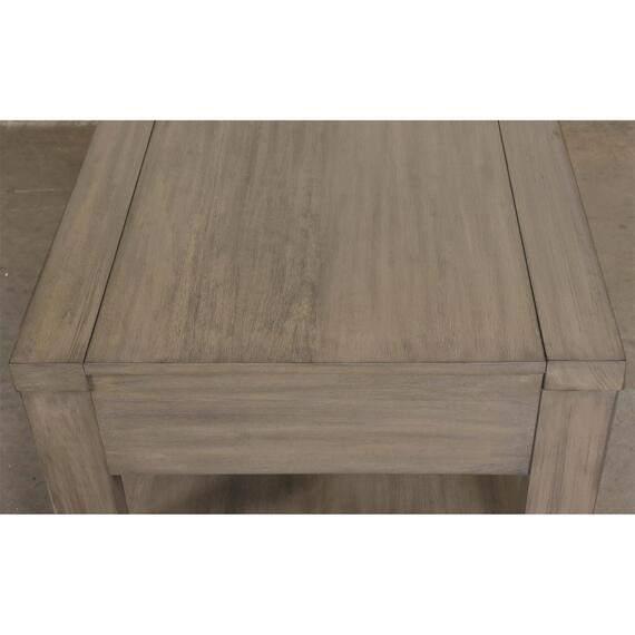 Riverside - Riata Gray - Coffee Table - Gray Wash Finish