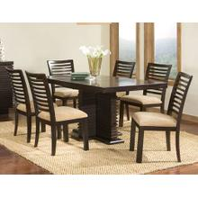 Perimeter Rectangular Pedestal Dining Room